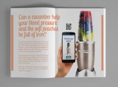 Ad Magazine Spread